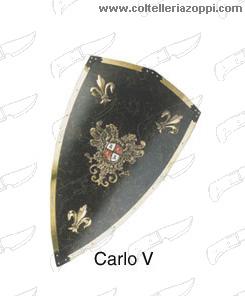 Replica Scudi - CARLO V