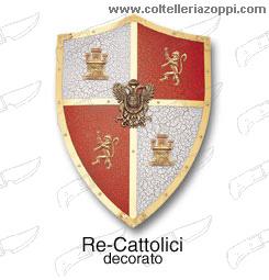 Replica Scudi - RE CATTOLICI decorato