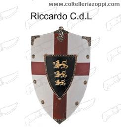 Replica Scudi legno - RICCARDO CUOR DI LEONE
