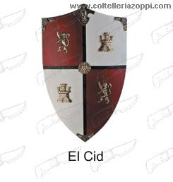 Replica Scudi legno - EL CID