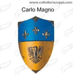 Replica Scudi legno - CARLO MAGNO