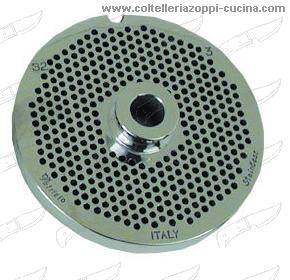 Trafila p/tritacarne inox FapaTool 12 - mm.4,