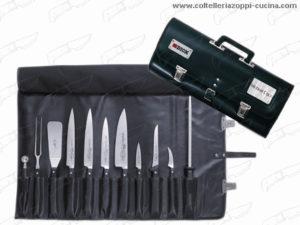 Trousse chef per 11 coltelli (SENZA COLTELLI)