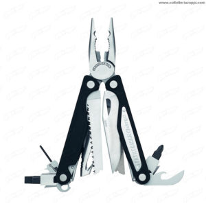 Leatherman Charge ALX + bit kit fodero cuoio