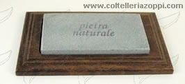 Pietra naturale rettangolare su base legno