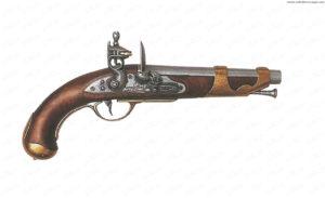 Pistola francese da cavalleria AN.IX