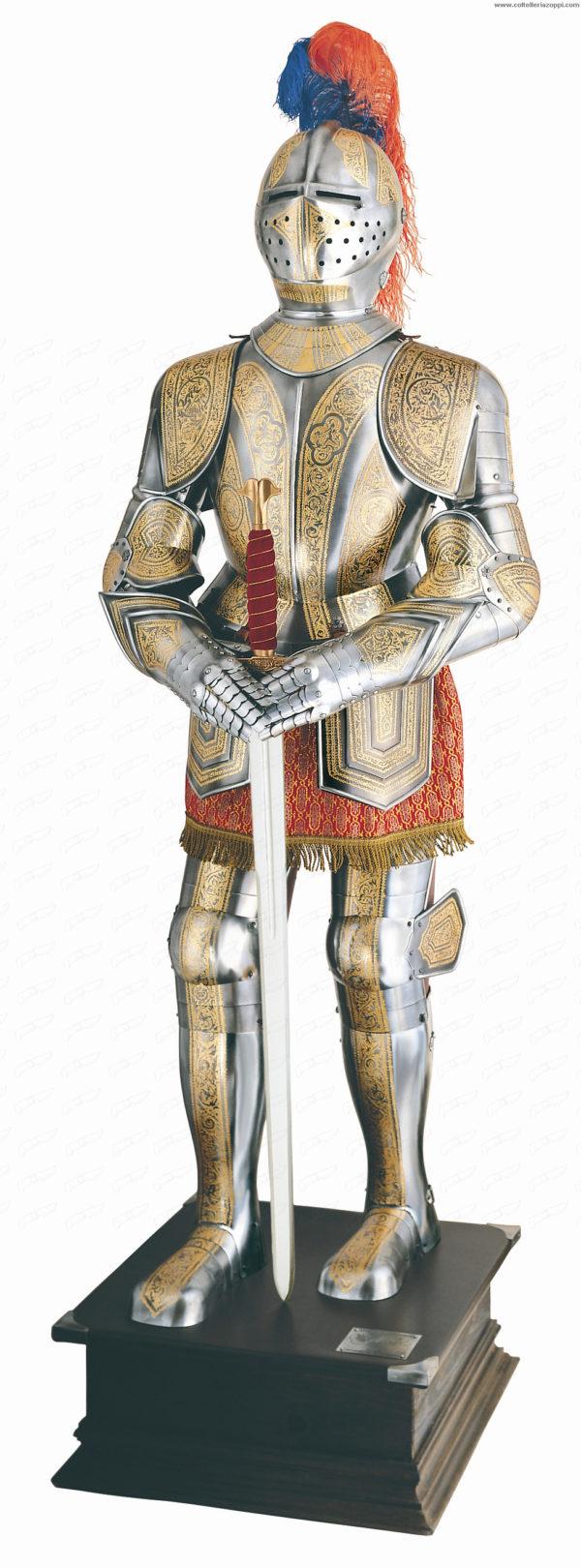 MARTO - Armatura spagnola del XVI secolo decorata