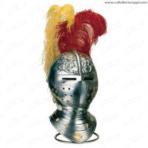 Elmetto spagnolo da cavallo del XVI secolo