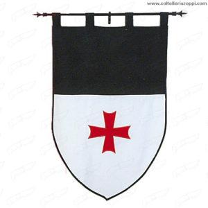 Stendardo Templare a doppia faccia