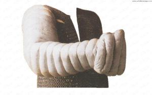 Manica gladiatoria (stoffa imbottita)