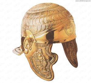 Elmo romano da cavalleria I sec. d.C.