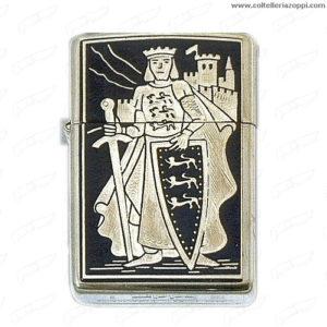 Accendino Zippo Templare Re scudo Leoni