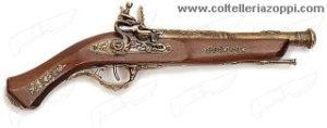 Pistola a focile sec. XVII