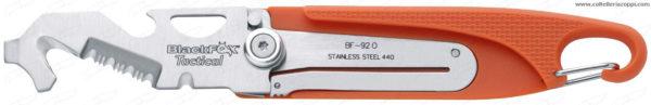 Black Fox Coltello Militare/salvataggio Arancione - BF-92 O