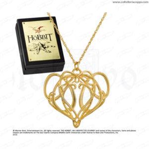 Lo Hobbit - Ciondolo di Elrond in Argento e Oro