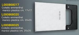 Coltello Taglia Formaggio Emmenthal - 20x20cm