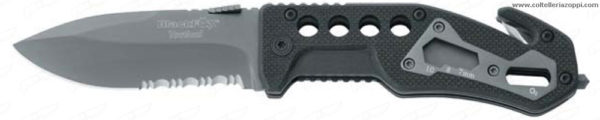 Black Fox - Tactical Rescue con manico G-10 - Coltello Salvataggio