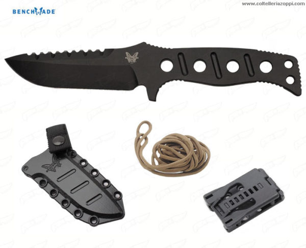 BENCHMADE - ADAMAS FIXED 375 SIBERT DES. BLACK
