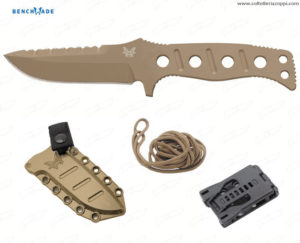 BENCHMADE - ADAMAS FIXED 375 SIBERT DES. SAND