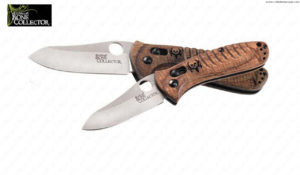 BENCHMADE - Bone Collector Mini Axis Wood -