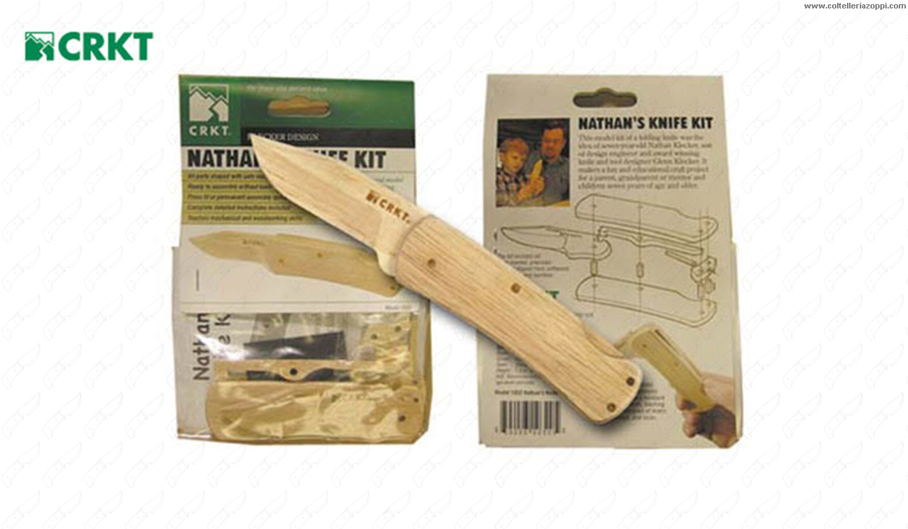 CRKT - KLECKER WOOD KNIFE KIT -