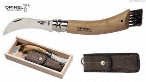 OPINEL - N.8 COGLIFUNGHI CHÊNE - FODERO e BOX LEGNO -