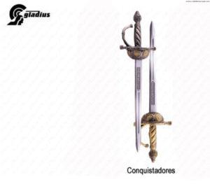 """GLADIUS - MINI GIFT SPADA """"CONQUISTADORES"""" -"""
