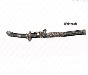 GLADIUS - REPLICA WAKIZASHI M.SERPENTE NERO ECONOMICO -