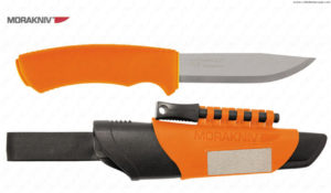 MORAKNIV - BUSHCRAFT SURVIVAL ORANGE (12051) -