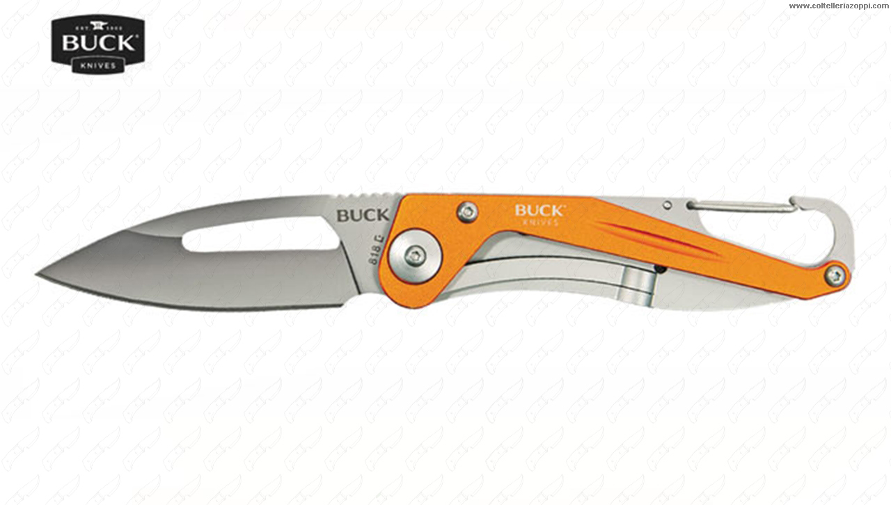 BUCK - APEX ALLUM.ORANGE 818ORS -