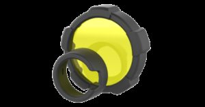 LEDLENSER - Filtro colore Giallo 85.5mm per MT18