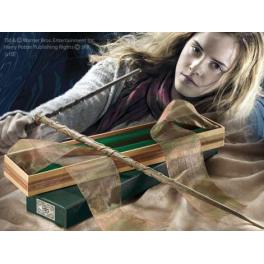 Bacchetta magica di Hermione originale della saga di Harry Potter Una ricreazione autentica della bacchetta della famosa maga.